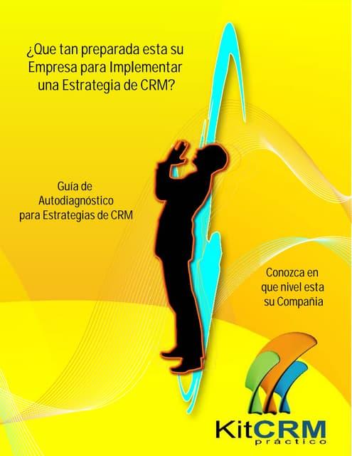 Guía Metodológica para Autodiagnóstico en CRM