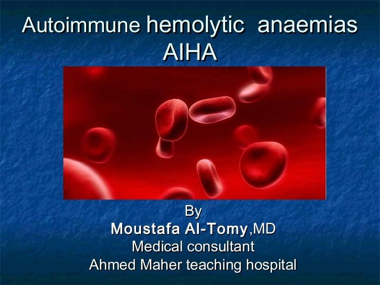 autoimmune hemolytic anemia, Skeleton