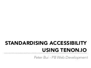 Automate Accessibility Testing with Tenon.io for any Websites or WordPress sites