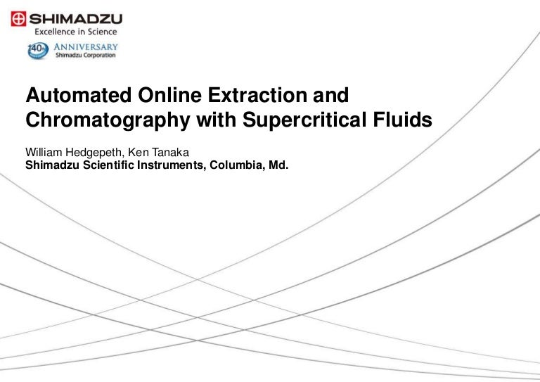 Automated Online Extraction and Chromatography with