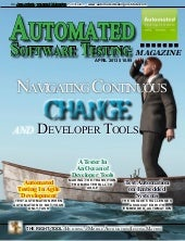 Automated softwaretestingmagazine april2013