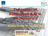 The Impact of Automation & AI in the Workplace