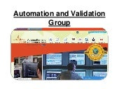 Automation and Validation Group