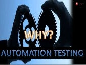 Automation Testing Services - MYQSOFT