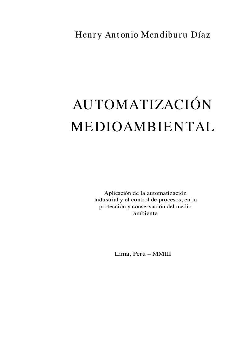 Automatizacion medioambiental