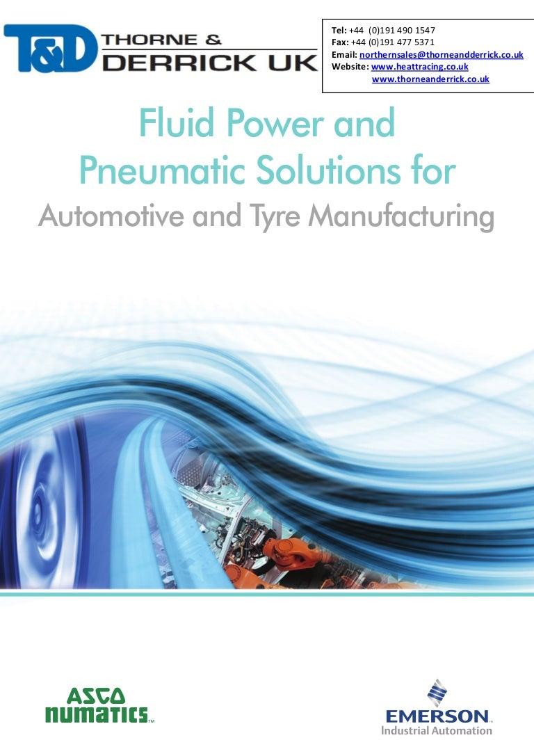 ASCO Numatics Fluid Power & Pneumatic Solutions for Automotive & Tyre…