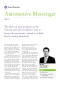 Grant Thornton - Automotive Messenger 2012