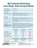 Automotive SEO Internet Marketing Case Study - Auto Group Dealer Website - National Postions Automotive Tony Ly
