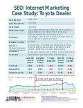 Automotive SEO Internet Marketing Case Study - Toyota Dealership - National Positions Automotive Tony Ly