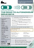 The Road To Autonomous Drive 2014 / 30 June - 02 July 2014 / Sindelfingen, Germany