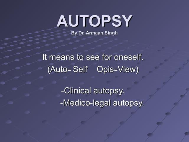 Autopsy.ppt
