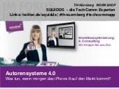 WORKSHOP Autorensysteme 4.0