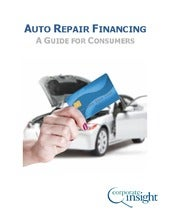 Auto Repair Financing - A Guide for Consumers