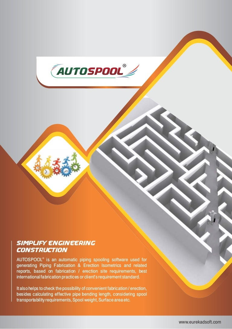 Autospool Piping Spooling Software Diagram Program