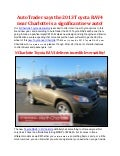 AutoTrader says the 2013 Toyota RAV4 near Charlotte is a significant new auto