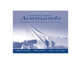 EBOOK_TEXTBOOK LIBRARY Avanzando Gramatica espanola y lectura Workbook 7th Edition Spanish Edition Spanish 7th Edition *E-books_online*