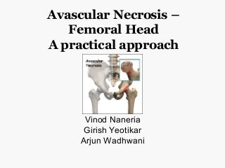 Avascular necrosis hip