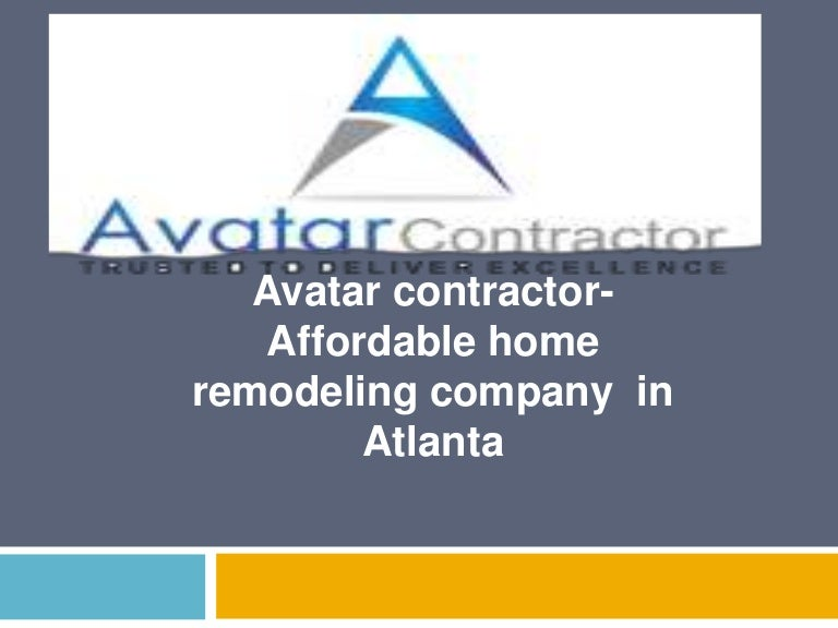 Avatar Contractor Affordable Home Remodeling Company In