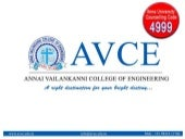 Avce admission ppt
