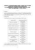 IDCC 1468 avenant relatif classification et minima