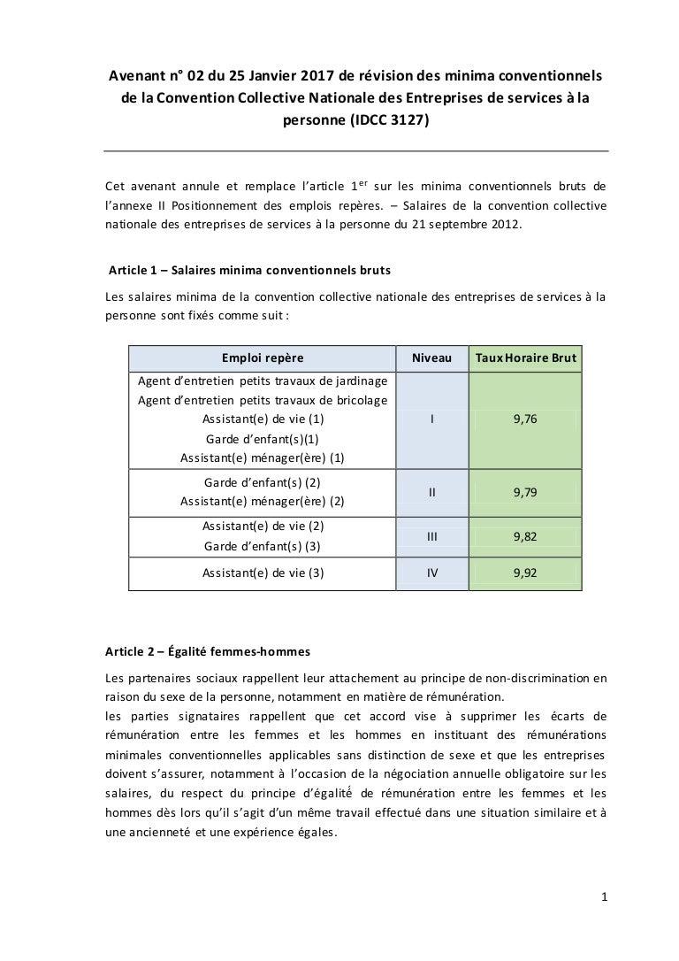 Idcc 3127 avenant sur les salaires dans la ccn des - Grille de classification des salaires ...