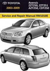 2002 2007 toyota avensis service repair workshop manual download 200 rh slideshare net 2017 Toyota Avensis Toyota Avensis 2008
