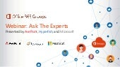 Understanding Office 365 Groups: Ask The Experts