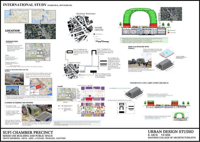 Urban Design - Mixed Use Building and Public Space