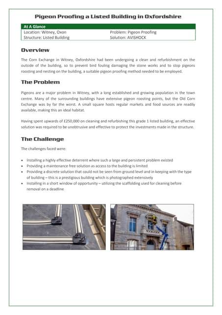 Avishock case-study