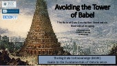 Avoiding the tower of babel - The Role of Data Description Standards in Biomedical Imaging