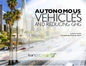Autonomous Vehicles and Reducing GHG