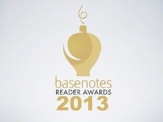 Basenotes Reader Awards 2013 : Finalists