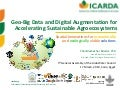 Geo-Big Data and Digital Augmentation for Sustainable Agroecosystems