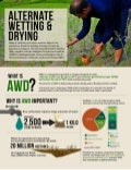 Infographic: Alternate wetting and drying in irrigated rice