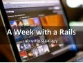 A week with a Rails security strategy