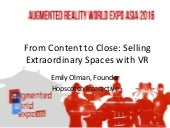From Content to Close: Selling Extraordinary Spaces with VR