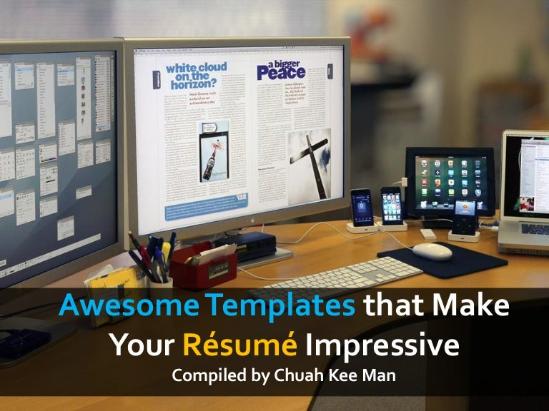 Make An Awesome Resume | Awesome Templates That Make Your Resume Impressive