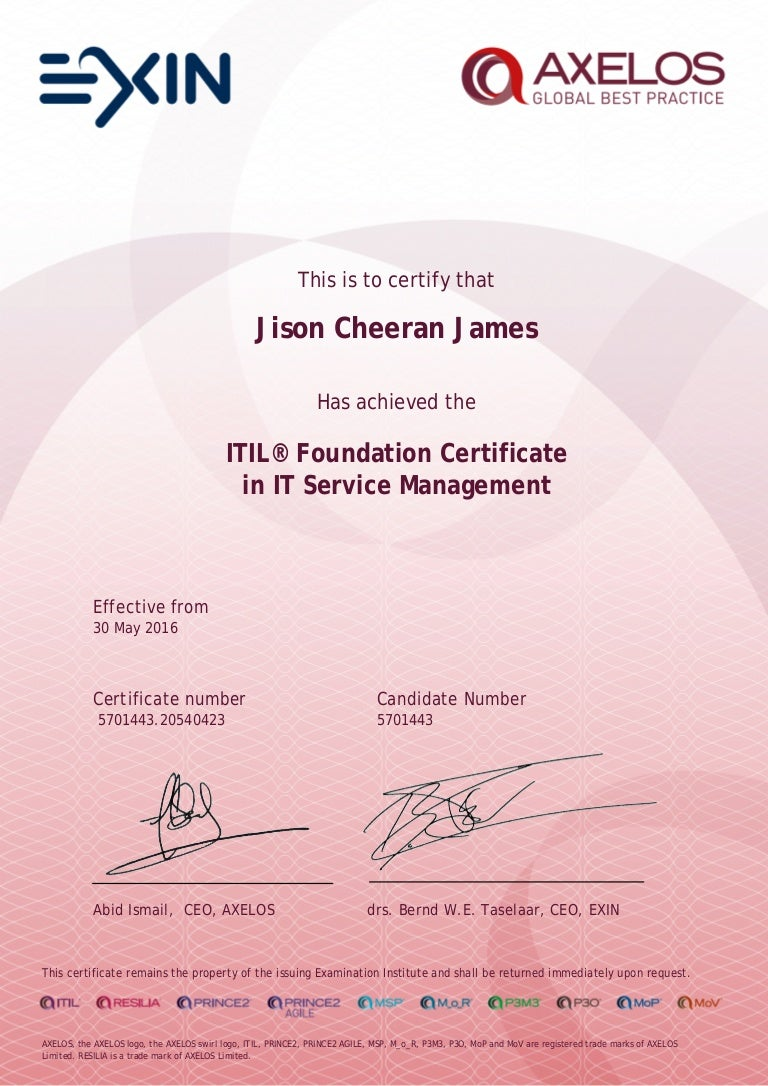 Itil foundation certificate in it service management xflitez Choice Image