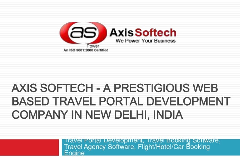 Travel Portal Development, Travel Booking Software, Travel