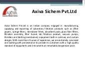 Axiva Sichem - Lab Filtration Equipments!