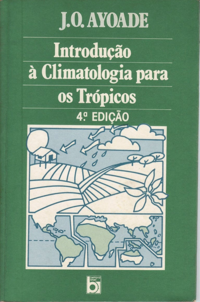 Ayoadejo Introduo Climatologia Para Os Trpicos Cpia Crisya In Mocca 37