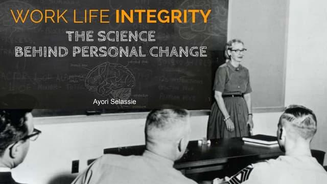 Work Life Integrity: 4 Keys to Thrive