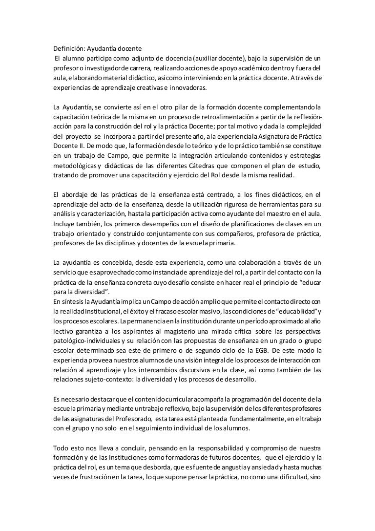 Fantástico Experiencia De Ayudante Del Maestro Reanudar Galería ...
