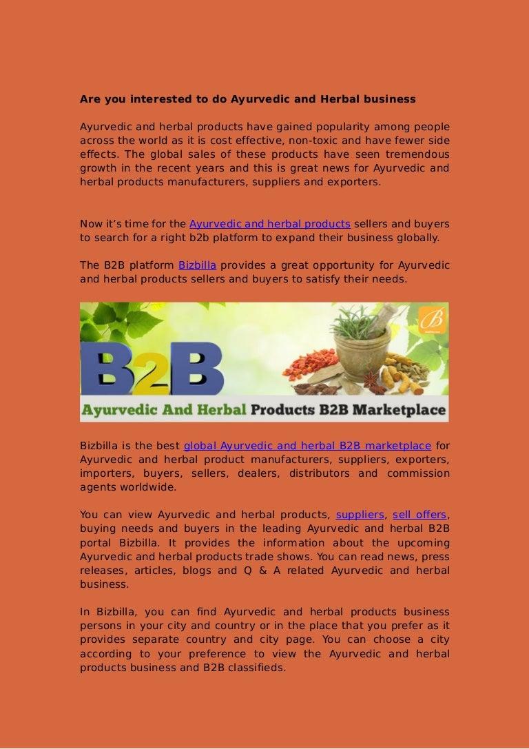 Buyers of herbal product - Buyers Of Herbal Product 2