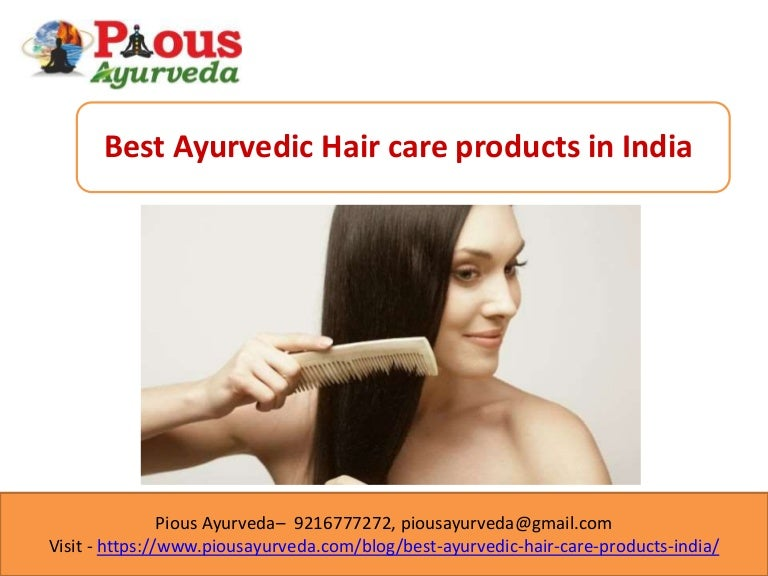 Ayurvedic Hair Care Products In India