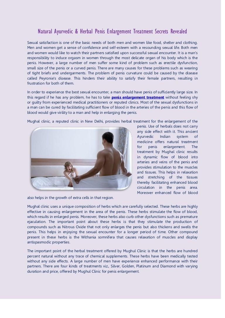 Enlargement natural penis remedies for List of