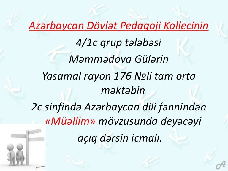 Muəllim