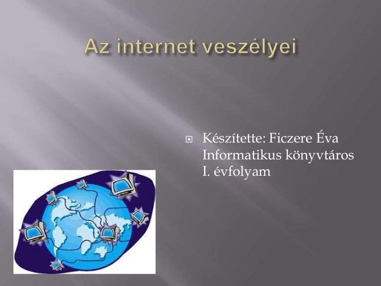Online társkereső powerpoint bemutató