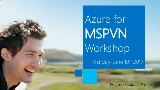[MSPVN - Azure Workshop] Day 1 - Azure Web App with WordPress deployment