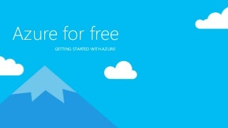 Azure for free